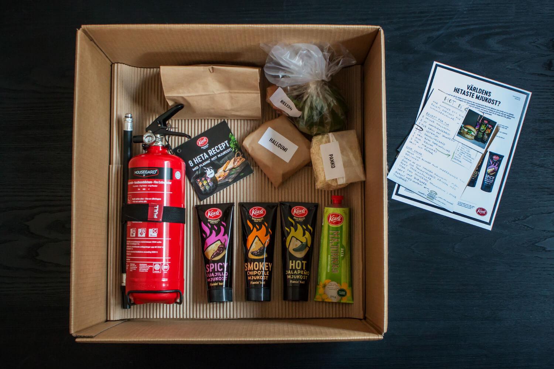 Kavli – Hot lansering PR-kit