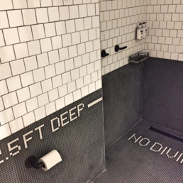 Trendspaning 2019 – Moxy Hotel bathroom