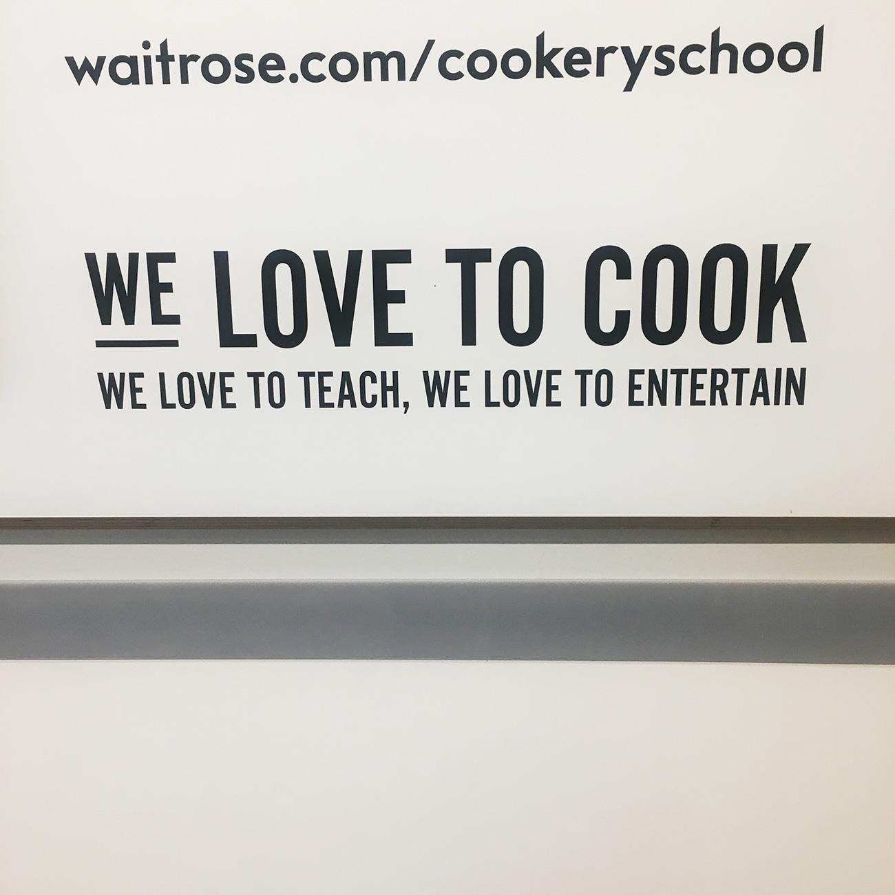 Trendspaning 2019 – Waitrose Cooking School
