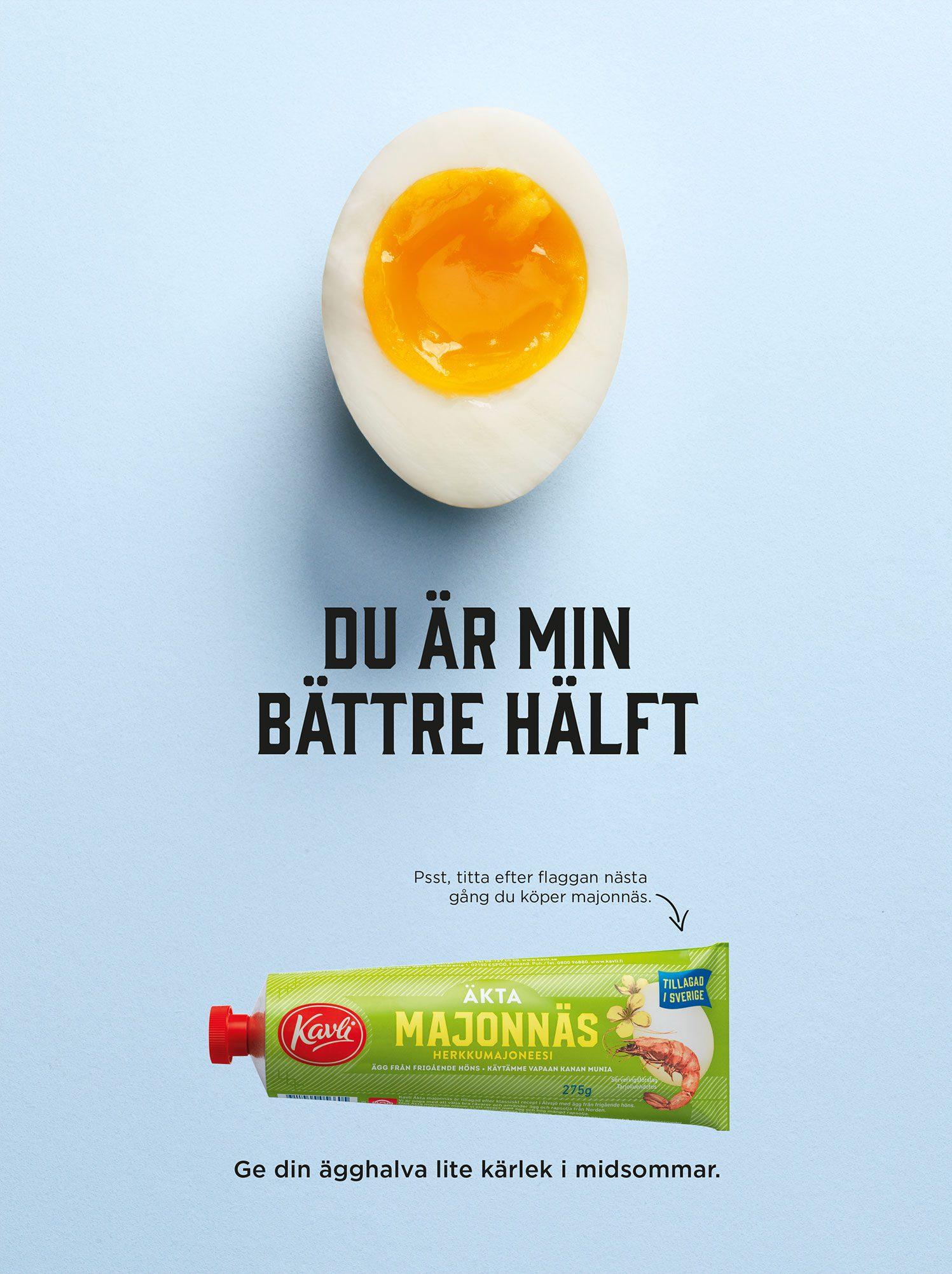 Kavli majonnäs annons